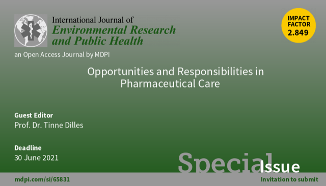 Call for Submissions: Opportunities and Responsibilities in Pharmaceutical Care