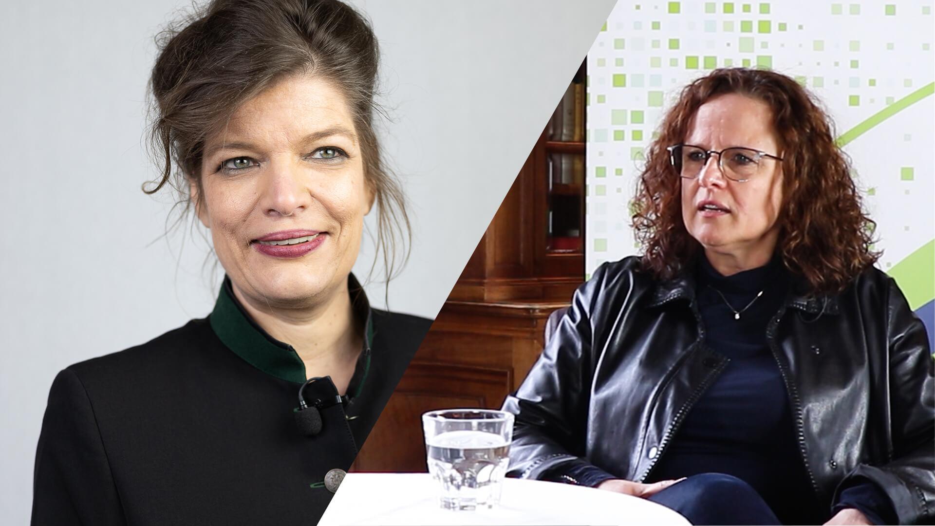 Talk im Schloss – Jana Bockholdt im Gespräch mit Esther Matolycz