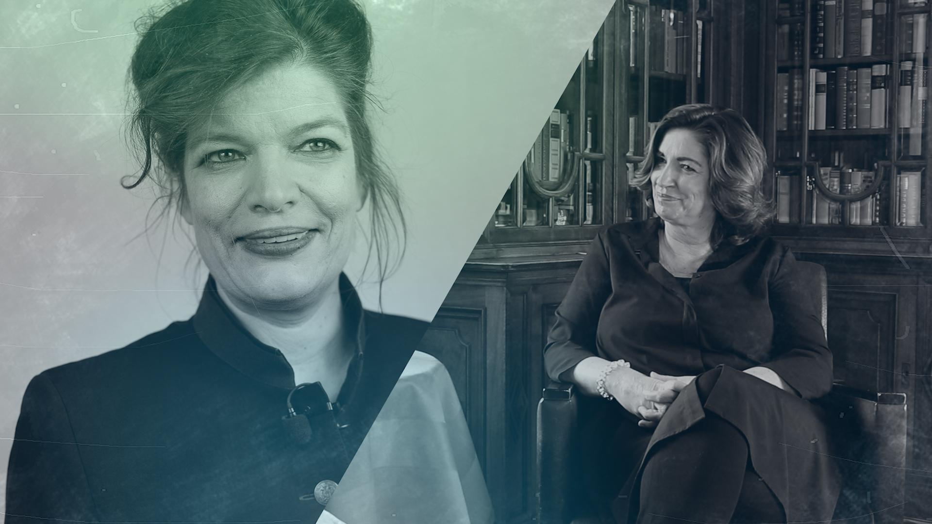 Talk im Schloss – Andrea Kapounek im Gespräch mit Esther Matolycz
