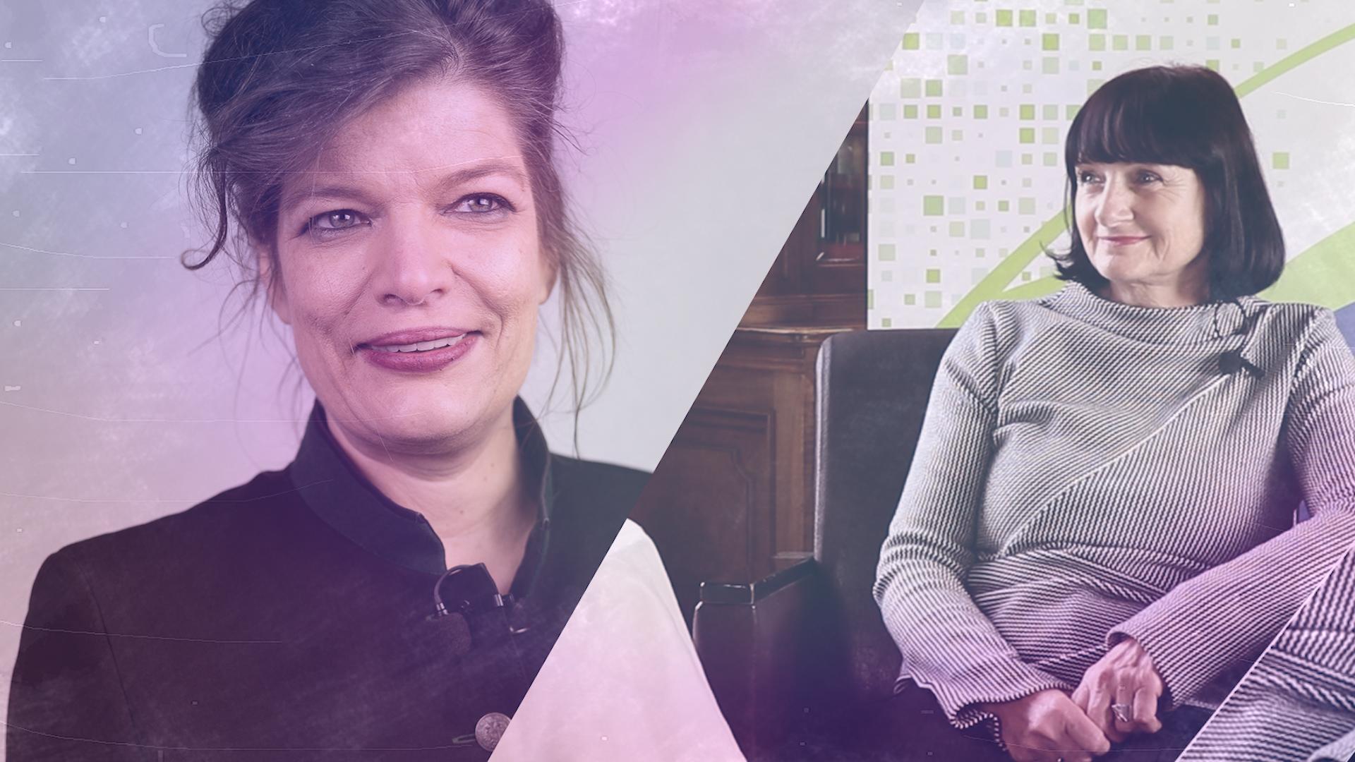 Talk im Schloss – Ilse Stefan im Gespräch mit Esther Matolycz