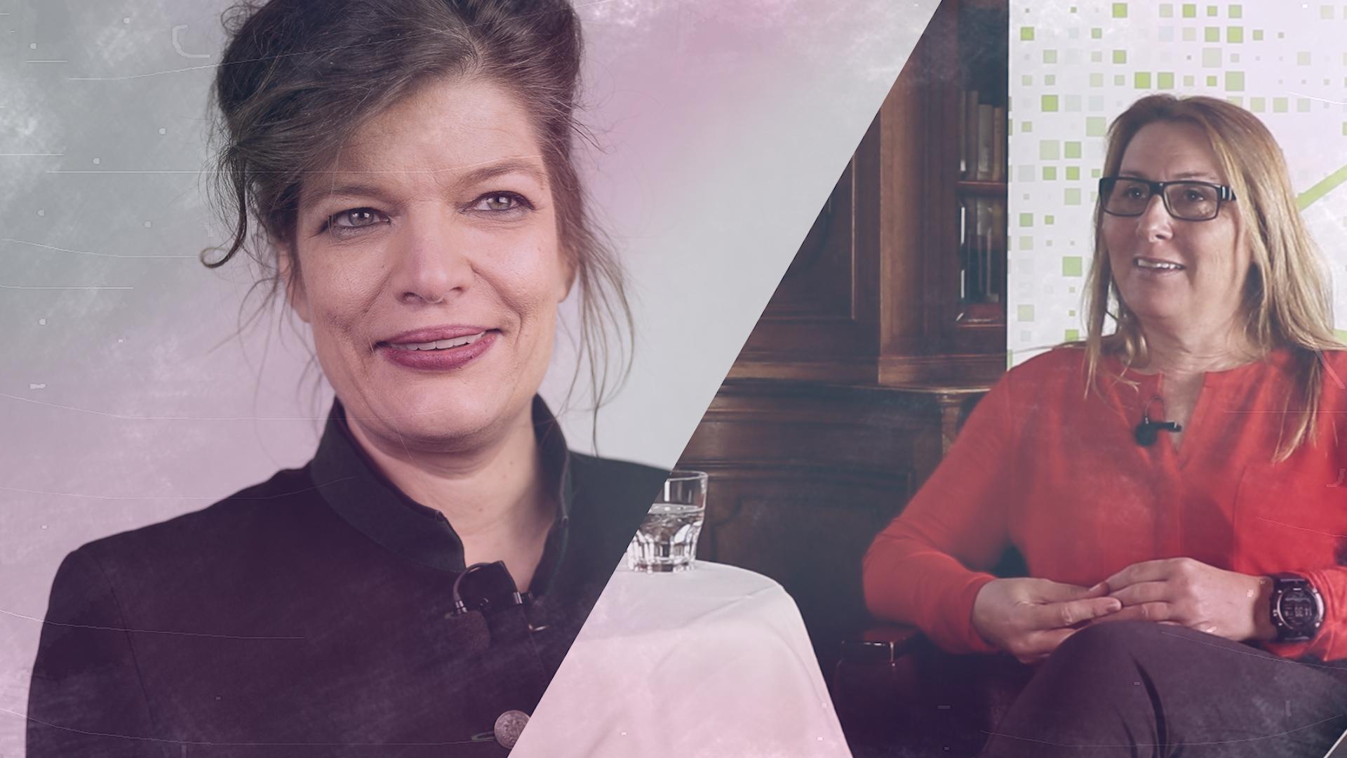 Talk im Schloss – Sonja Koller im Gespräch mit Esther Matolycz