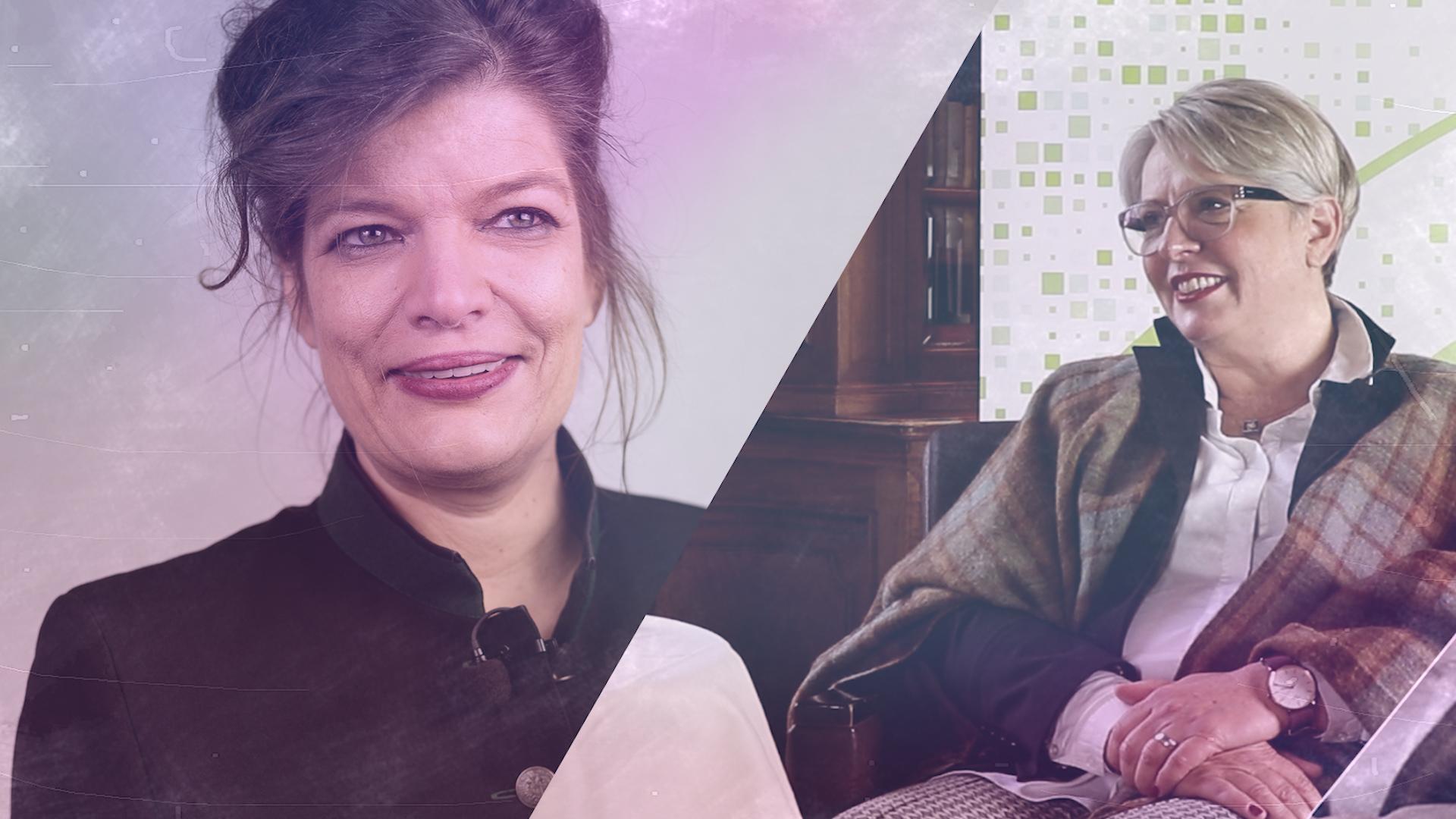Talk im Schloss – Sabine Wolf im Gespräch mit Esther Matolycz