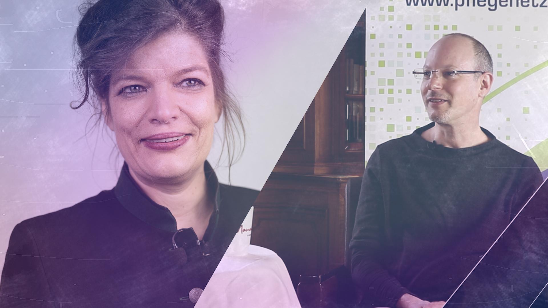 Talk im Schloss – Kurt Schalek im Gespräch mit Esther Matolycz