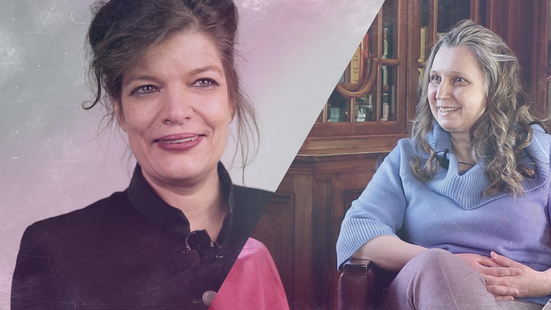 Talk im Schloss – Anke Stalzer im Gespräch mit Esther Matolycz