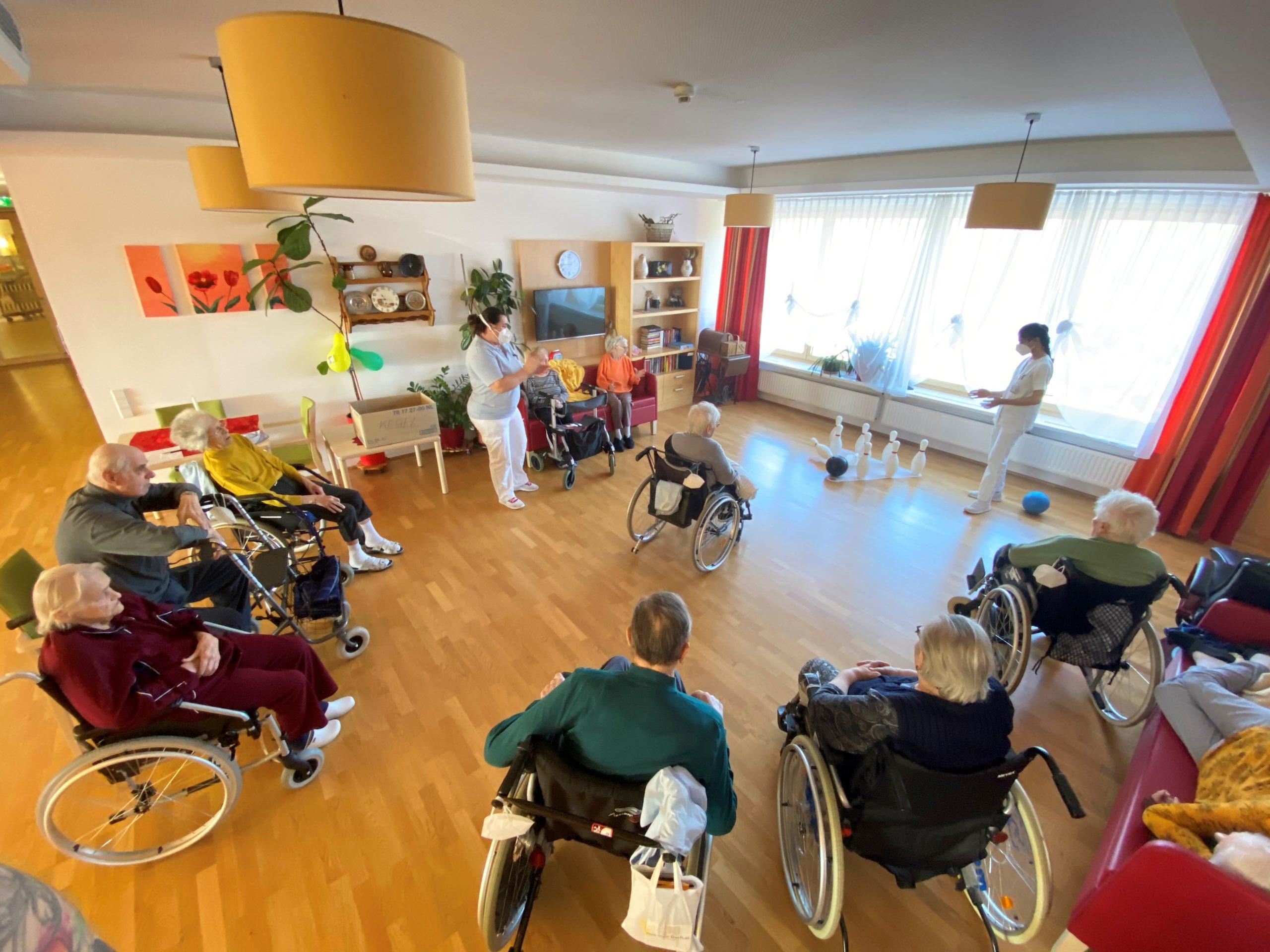 Professionelle Pflege im Haus der Barmherzigkeit
