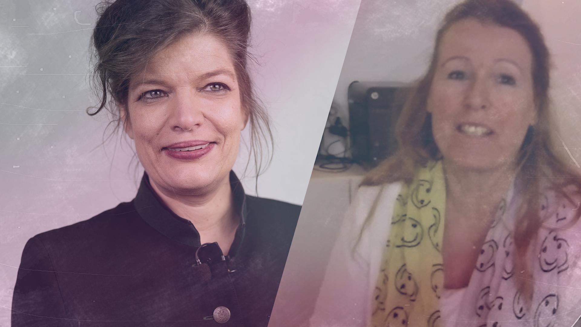 Talk im Schloss – Catherine Urban-Huser im Gespräch mit Esther Matolycz