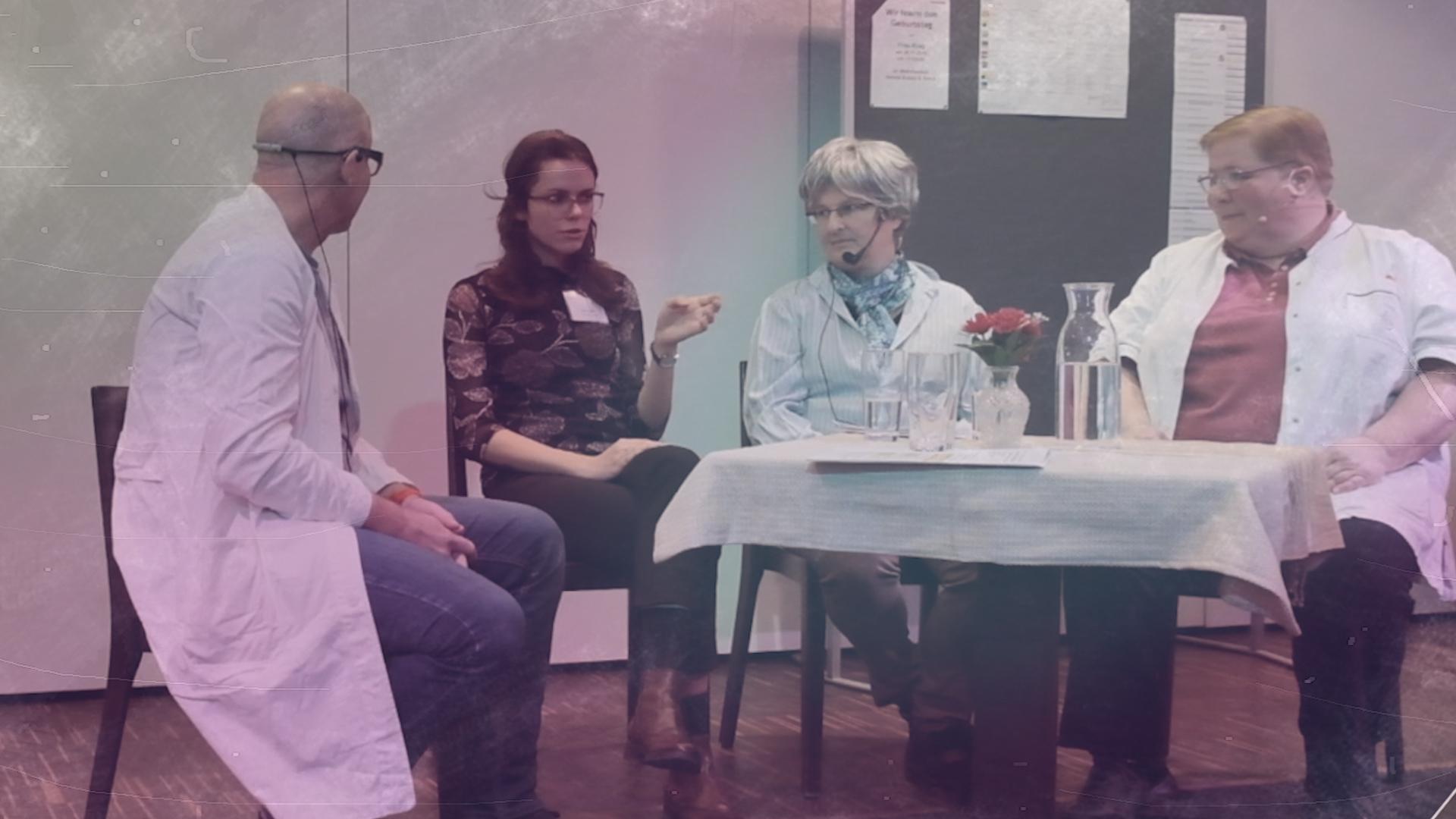 VSD – Szenische Darstellung des Vorsorgedialogs in Alten- und Pflegeheimen