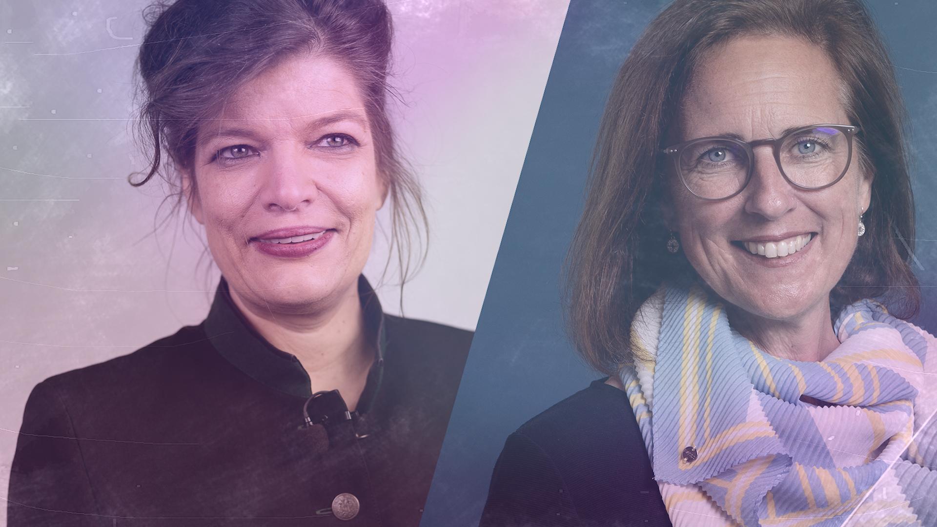 Talk im Schloss – Annette Wachter im Gespräch mit Esther Matolycz